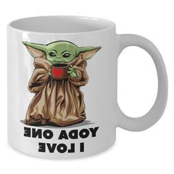 Star Wars Baby Yoda One I Love Funny Valentine's Day 11oz 15