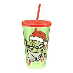 Star Wars Yoda Holiday 18 oz. Acrylic Travel Cup
