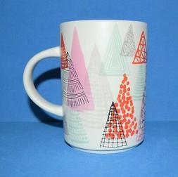 Starbucks 2017 Holiday Collection Ceramic Mug 12oz - Trees N