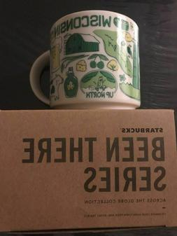 STARBUCKS BEEN THERE SERIES MUG WISCONSIN JUST RELEASED NIB