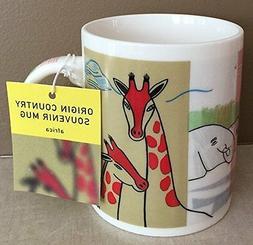 Starbucks Coffee 2001 Africa Mug Origin Country Souvenir 12