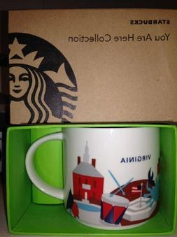 Starbucks Coffee Mug - Virginia You Are Here Collection