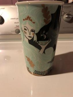 starbucks coffee mug 12 oz siren mermaid