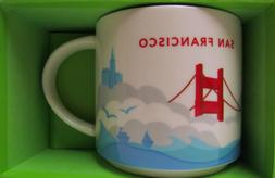 STARBUCKS COFFEE MUG SAN FRANCISCO YOU ARE HERE COLLECTION 2