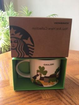 "Starbucks  IRELAND  Cup Mug  ""You are Here""  Collection  NEW"