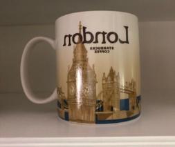Starbucks London Coffee Mug Global Icon City Collector Serie