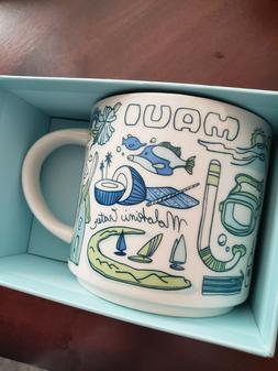 "Starbucks Maui Hawaii ""You Are Here"" Mug BRAND NEW/Collectib"