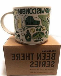 Starbucks WISCONSIN 14 Ounce Been There Collection  Mug. NWT