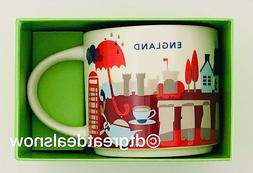 Starbucks You are Here Collection England Ceramic Mug NEW IN