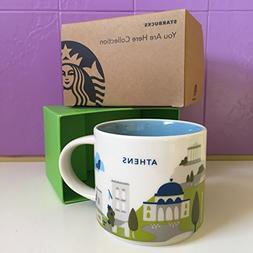 Starbucks 'You Are Here' YAH City Mug - ATHENS, Greece.