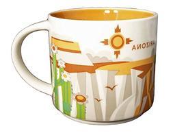 Starbucks You Are Here Series 2013 Arizona Coffee Mug