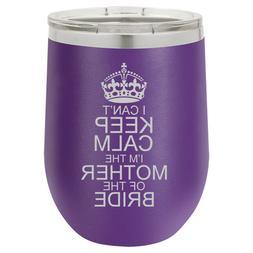 Stemless Wine Tumbler Travel Mug I Can't Keep Calm I'm The M