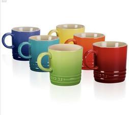 Le Creuset Stoneware Coffee, Tea, and Espresso Mugs In Assor