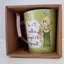 stoneware mug it s not coffee it