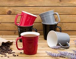Mikasa Stoneware Mug Set 6 Piece