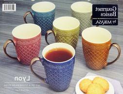 Mikasa Stoneware Mugs, Set of 6