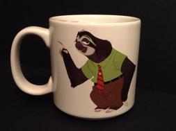 DISNEY STORE Mug ZOOTOPIA FLASH Cup WHAT'S THE RUSH ? 2016 R