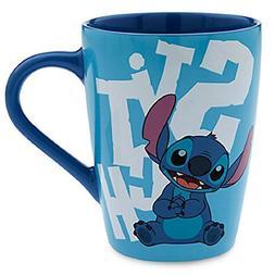 Disney Store Stitch Mug Coffee Cup Blue Lilo New 2016