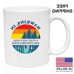 Stranger Things, Hawkins, IN,  Coffee, Tea, Funny  Mug 11oz