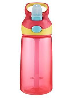 Contigo AUTOSPOUT Straw Striker Kids Water Bottle, 14 oz, Ch