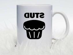 Stud Muffin Coffee Mug | Funny Gift For Him | Funny Coffee M