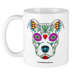 CafePress Sugar Skull Color Mugs 11 oz Ceramic Mug