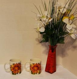 Sunflower Dinnerware Royal Norfolk Home Collection Set 16- P