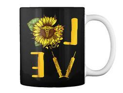 Sunflower Nurse For Men Women Gift Coffee Mug