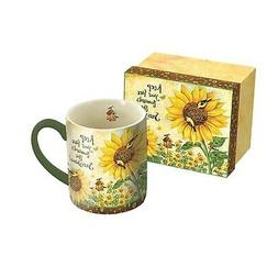 Sunflowers 14 oz Mug,  by Lang Companies