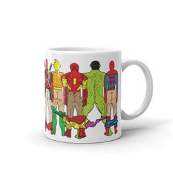 SuperHero Butts mug super hero heros coffee tea