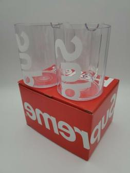 Supreme Heller Mugs  Clear IN HAND