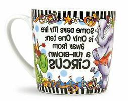 Brownlow Gifts Suzy Toronto Coffee Mug, Circus