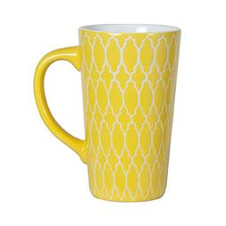 Pfaltzgraff Tall Large Coffee Latte Mug 16 Ounce - Yellow