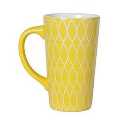 Pfaltzgraff Tall Large Coffee Latte Mug 16 Ounce - Yellow