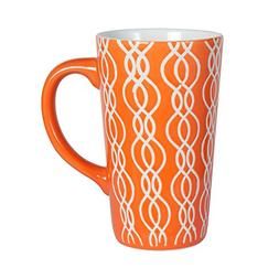 Pfaltzgraff Tall Large Latte Coffee Mug 16 Ounce - Orange