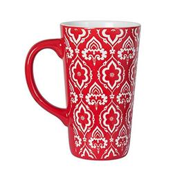 Pfaltzgraff Tall Red Mug, 16-Ounce