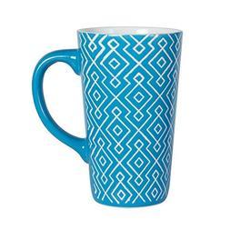 Pfaltzgraff Tall Sky Blue Coffee Latte Mug, 16-Ounce