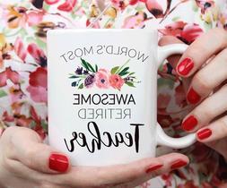 Teacher Retirement Gift, Retirement Mug Gift For Teacher - 1