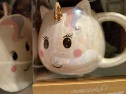 TEN 10 STRAWBERRY STREET Unicorn Mug and Coaster BRAND NEW i