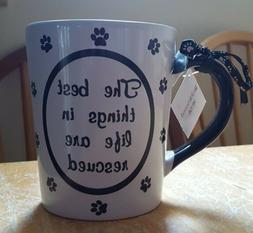 "Tumbleweed  ""The Best Things in Life are Rescued"" Coffee Mug"