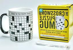 the crossword puzzle mug gift by coffee