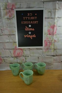 The Pioneer Woman Timeless Beauty Jade Coffee/Tea Mug Set of