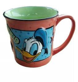 "The Disney Store - DONALD DUCK 3D GRAPHICS"" Coffee Cup Mug E"