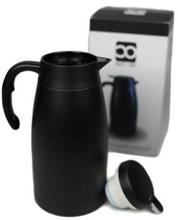 THERMAL CARAFE 68oz Coffee Thermos with Stainless Steel Doub