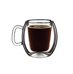 Luigi Bormioli Thermic Set of 2 10.25-oz. Cafe Glasses