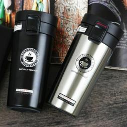 Thermos Coffee Mugs Double Wall Stainless Steel Tumbler Vacu