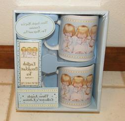 Hallmark Three Angels Collector's Edition Mug Set New Housto