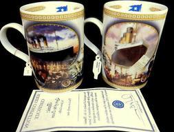 Titanic Porcelain Coffee Mug Set Davenport Pottery England C