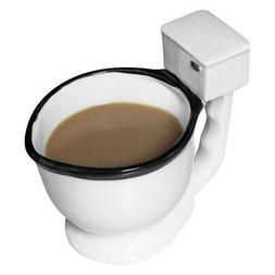 toilet mug ceramic coffee tea or beverage