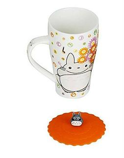 Totoro Mug With Silicone Lid